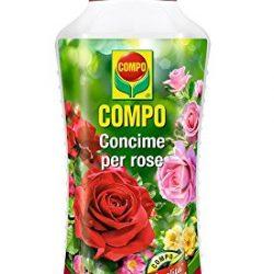 Compo 1456002005 Concime per Rose, 1 L, Verde, 9×18.7×27 cm