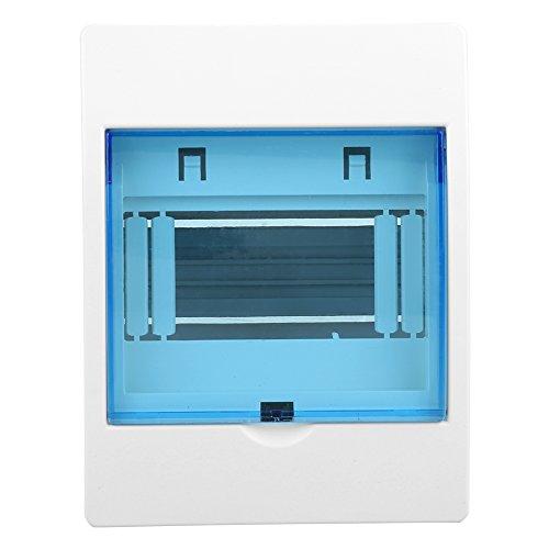 Centralino da Parete Scatola di protezione di distribuzione in plastica Trasparente Distribuzione di corrente per interruttori automatici sul muro