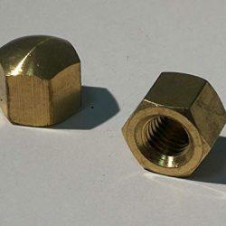 5 dadi in ottone – DIN 917 materiale ottone.