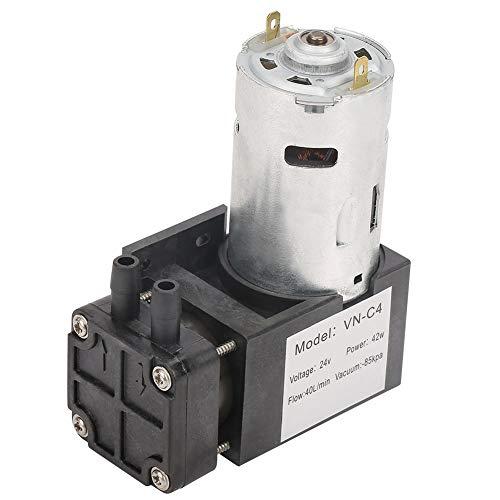 Pompa per Vuoto Mini Senza Olio 40L / min -85KPa Pompa per Pressione Negativa Pompa per Vuoto Mini Piccola DC 24V