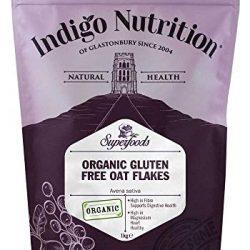 Indigo Herbs Fiocchi di Avena Bio Senza Gluten 1kg – Fino