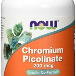 Cromo picolinato 200 mcg – 180 compresse – Per 6 mesi – Vegan