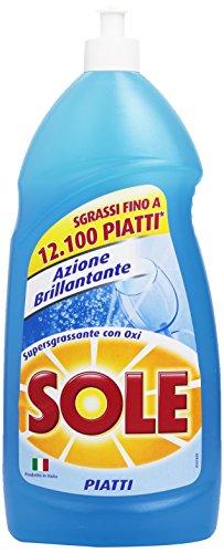 Sole Detersivo Piatti Liquido, Azione Brillantante, 1.1 l