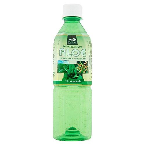 Tropical – Bevanda con Aloe Vera e Te' Verde, Addizionata di Vitamina C – 500 ml