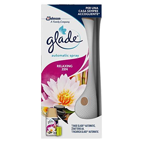 Glade Automatic Base fragranza Relaxing Zen – 1 Base e 1 Ricarica da 269ml