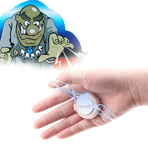 gfjfghfjfh Original Divertente Shocking Hand Buzzer Shock Joke Toy Prank novità Funny Electric Buzzer Party Gioca a Joke Trick Toy 3