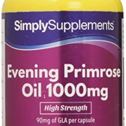 Olio Di Enotera 1000mg, 360 Capsule. Omega-6 GLA. Prodotto nel Regno Unito.