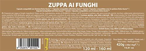 Note D'Espresso Preparato per Zuppa ai Funghi in Capsule – 420 g (30 x 14 g) Esclusivamente Compatibili con le macchine a capsule Nescafé* e Dolce Gusto* 6