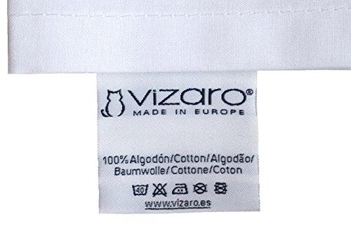 Vizaro – COPRIPIUMINO + Federa Cuscino lettino 70x140cm – 100% COTONE – Alta qualità made in EU senza sostanze nocive – Mis – 100x135cm, 30x60cm -C. Linee E Puntini 5