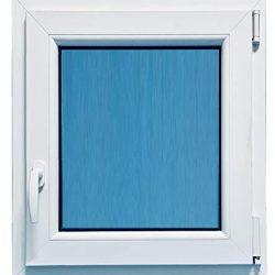 Finestra in PVC 900 x 1200 Destra Osciluatiente 1 foglio