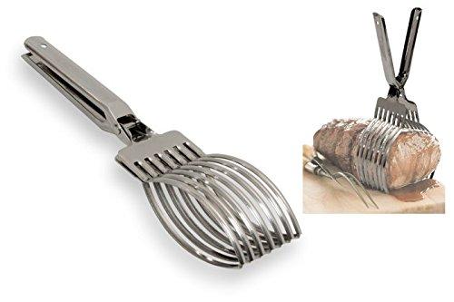 Gnali taglia unica in acciaio INOX fruste 40cm