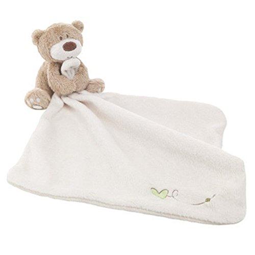 Woopower, coperta di sicurezza per bambini, soffice copertina con animali in peluche imbottiti, copertina di conforto con orsetto per bebè