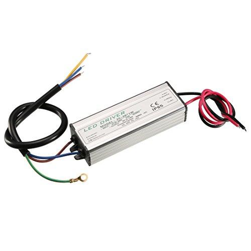 sourcing map 25-36W Corrente costante 300mA IP65 impermeabile alluminio Driver LED alimentazione