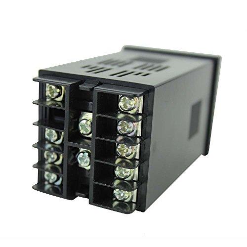 Uscita Inkbird Dual Digital Temperature Controller Termostato Termometri per Termocoppia PID Temperature Controller Relè ITC-100RH 220 V 3
