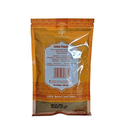 Health Embassy Semi di Cumino Nero Polvere (Nigella Sativa) / Nigella Sativa Seeds Powder, 100g