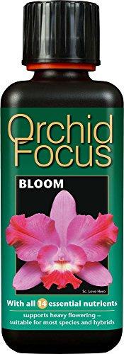 Growth Technology Orchid Focus Bloom 300ml Soluzione Nutriente per Orchidee, Nero, 5.5×5.5×16 cm