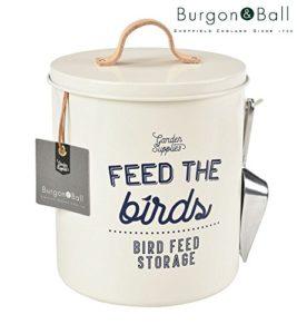 Burgon and Ball New smalto nutrire gli uccelli–Bird Seed Container