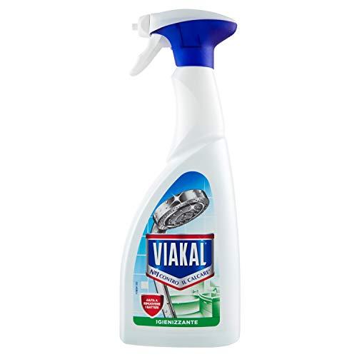 Viakal Igienizzante Spray Detersivo Anticalcare – 700 ml