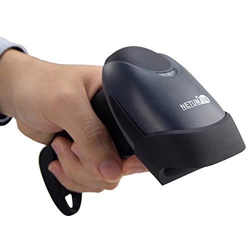 NETUM Lettore Codici Barcode Scanner Bar Code Reader a Barre Universale Laser 1D Ottico con Cavo USB per Computer / Notebook, Windows XP / 7 / 8 ecc NT-M1