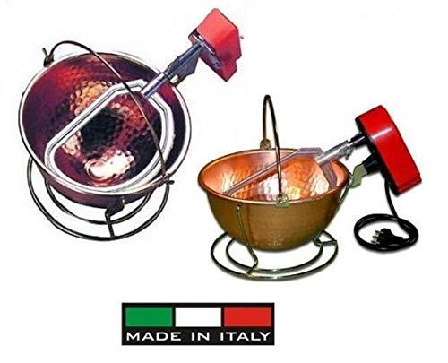 Nuova Fac: Paiolo elettrico in rame martellato (5W) cm.26 – 3 Lt