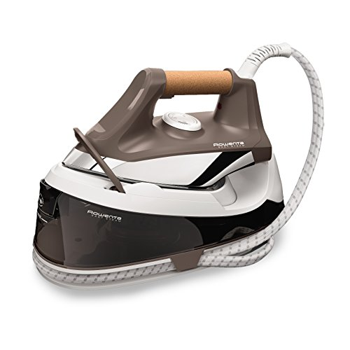 Rowenta VR7260 Easy Steam Ferro da Stiro Generatore di Vapore, Piastra in Acciaio Inox, con filtri Anticalcare, Plastica