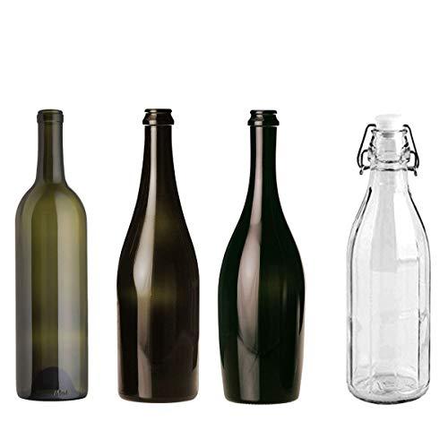 STI Bottiglie Vino Spumante Champagne Acqua Varie Misure 2