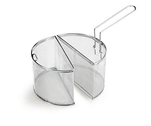 Lagostina 10248020922 Pentola Multicottura con Doppio Cestello, Alluminio, Argento, 22 cm 4