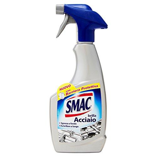 Smac Spray Brilla Acciaio e Sgrassatore – 500 ml