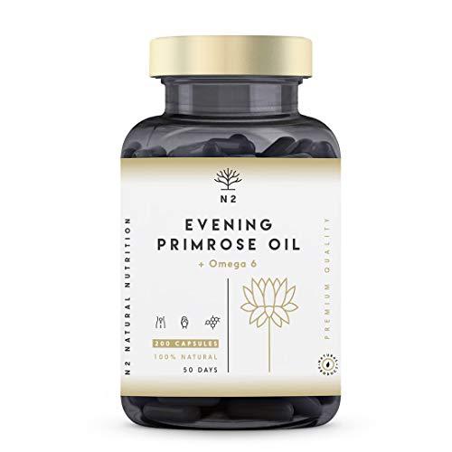 Olio di Enotera 1000 mg – 360 capsule – 1 anno di trattamento – SimplySupplements