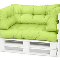 Spatium Cuscini per Pallet Euro sedile schienale 20 cm di spessore