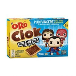 Pavesi Biscotti Ringo Thin Cioccolato, Snack per Merenda o Pausa Studio, Senza Olio di Palma – Confezione da 6 X 39g