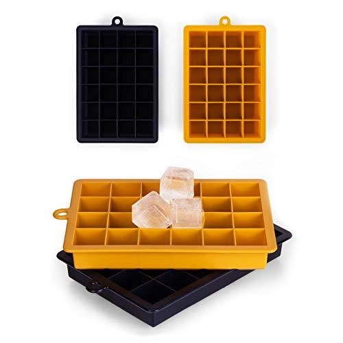 Blumtal 2 Stampi per Cubetti Ghiaccio – in Silicone, Vaschette da 16,5 x 11 x 2,6 cm