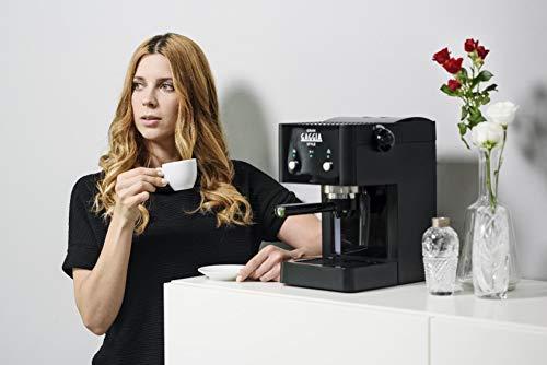 Gaggia RI8423/11 Grangaggia Style, Macchina per caffe, Capacità serbatoio acqua 1 L, 15 bar, Nero 6