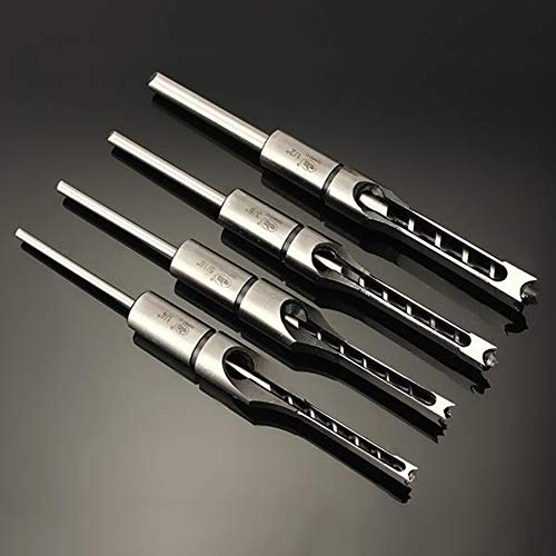 Durable Use Drill Bit Mortis scalpello HSS Twist Drill Bit Set per DIY Nero e Nastro