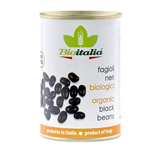 Probios – Il Nutrimento Fagioli Neri al Naturale – 12 confezioni da 400 gr