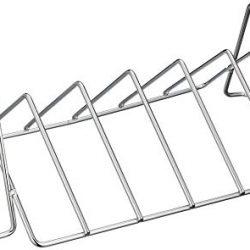 Char-Broil 140017 Supporto per Costine e arrosto, Stainless Steel
