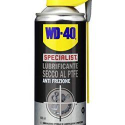 WD-40 Specialist – Lubrificante Spray Secco al PTFE Anti Frizione con Sistema Doppia Posizione – 400 ml