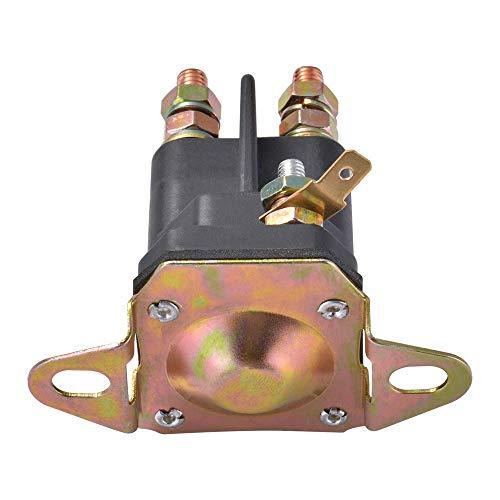 Relè solenoide di avviamento 12V a 3 terminali Contattore Switch Engine per MTD, Cub Cadet, ecc. Compatibile con 924285 Murray (33-331)