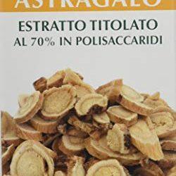 Capsule di Astragalo (112 mg di polisaccaridi e 0,8 mg di glucosidi) Tragant Tragacantha Membranaceus polvere di radice – prodotto vegetale di qualità (1×90 capsule)