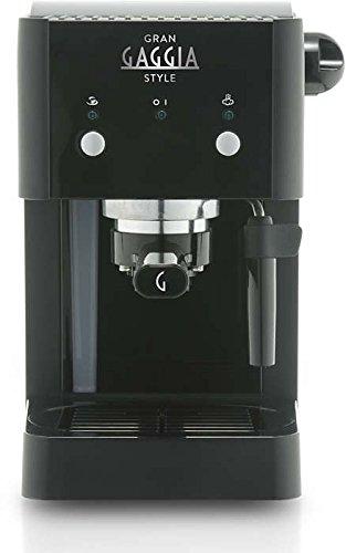 Gaggia RI8423/11 Grangaggia Style, Macchina per caffe, Capacità serbatoio acqua 1 L, 15 bar, Nero 3