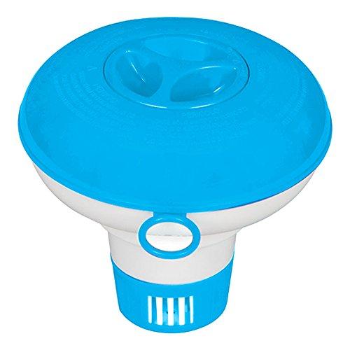 Intex-29040 Dispenser di Cl Piccolo, Colore Blu, I.24, 29040