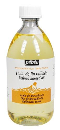 PEBEO – Olio Raffinato di Semi di Lino, 495 ml, Trasparente 2