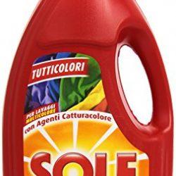 Sole Tutticolori Detersivo Lavatrice Liquido, Lana e Delicati, 16 Lavaggi