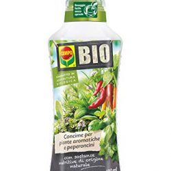 COMPO BIO Concime Liquido per Piante Aromatiche e Peperoncini, 500ml