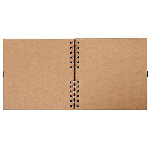Paperchase – Album per ritagli, piccolo, forma quadrata 3