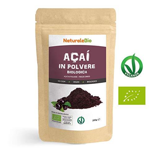Bacche di Acai 2500 mg – 120 capsule – 2 mesi di trattamento – Adatto ai vegani – SimplySupplements