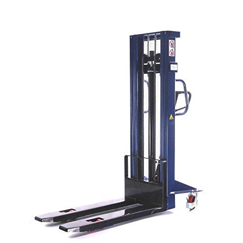 Elevatore manuale Accatastatore manuale Portata 1,0t / 1000 kg Altezza di sollevamento 3,0m / 3000 mm