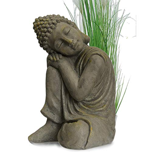 INtrenDU® Buddha Scultura Carattere Statua cm 43 Terrazza Giardino budda