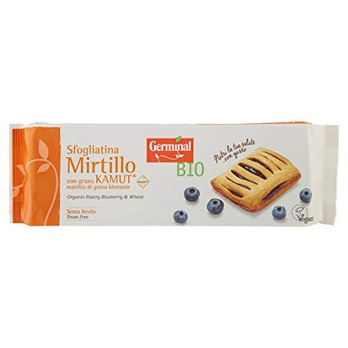 Germinal Bio Sfogliatina Mirtillo Kamut – 3 pezzi da 200 g [600 g]
