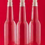 24 bottiglie di vetro 275ml Antico piccola bottiglia 0,275 litro l con tappi di slkfactory
